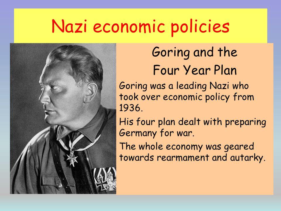 Nazi economic policies