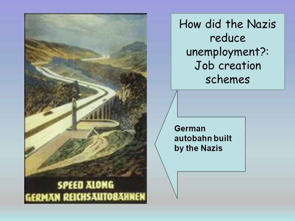 How did the Nazis reduce