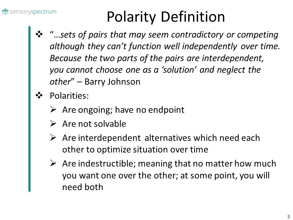 Polarity Definition