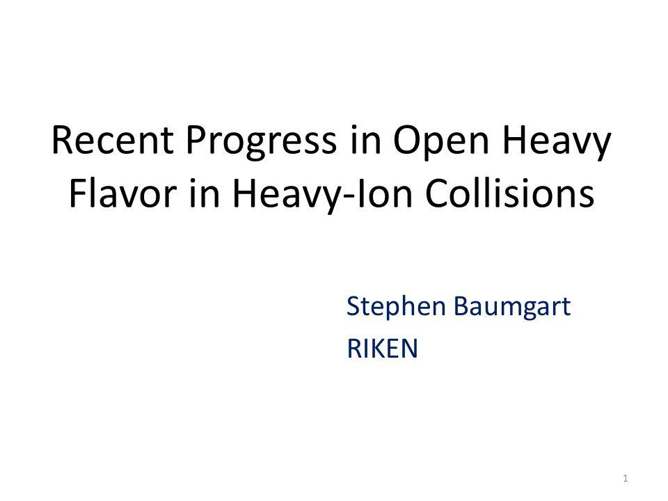 Recent Progress in Open Heavy Flavor in Heavy-Ion Collisions