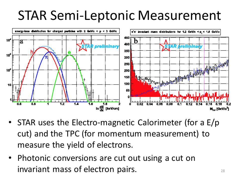 STAR Semi-Leptonic Measurement