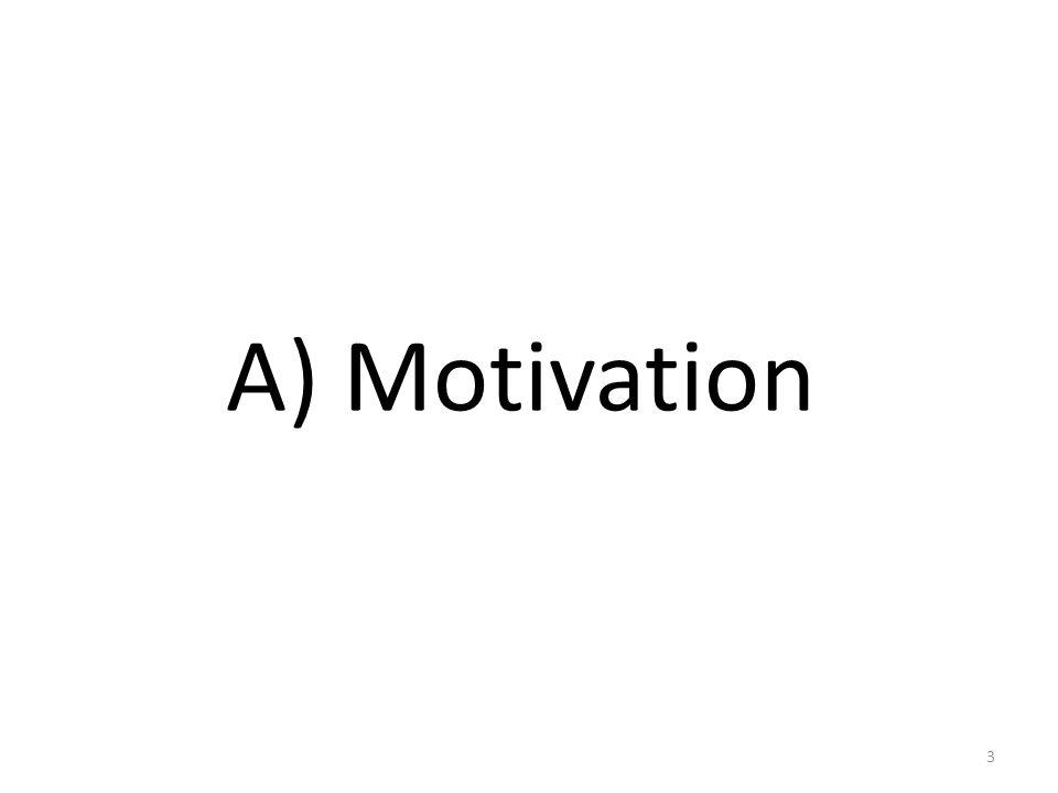 A) Motivation