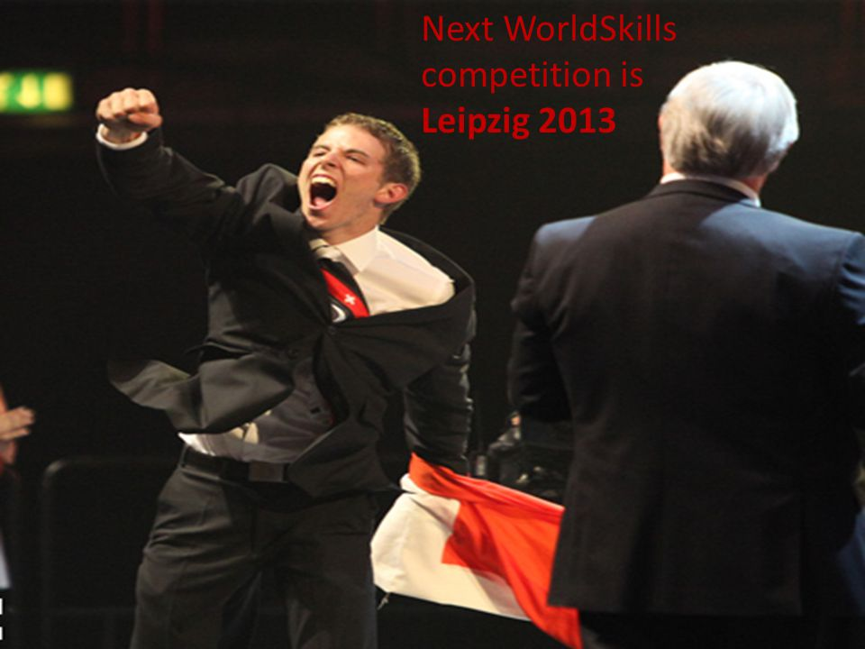 Next WorldSkills competition is Leipzig 2013