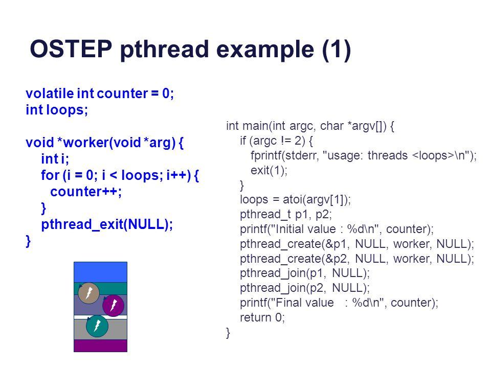 OSTEP pthread example (1)