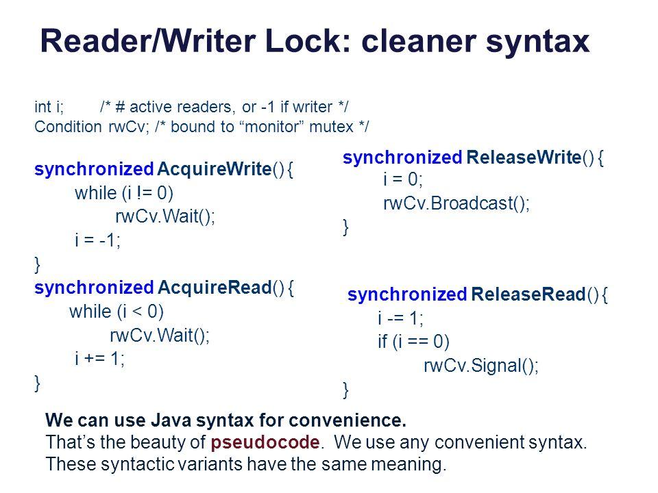 Reader/Writer Lock: cleaner syntax