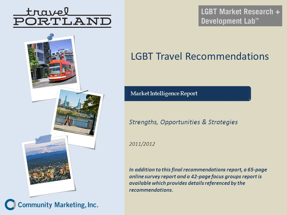 LGBT Travel Recommendations