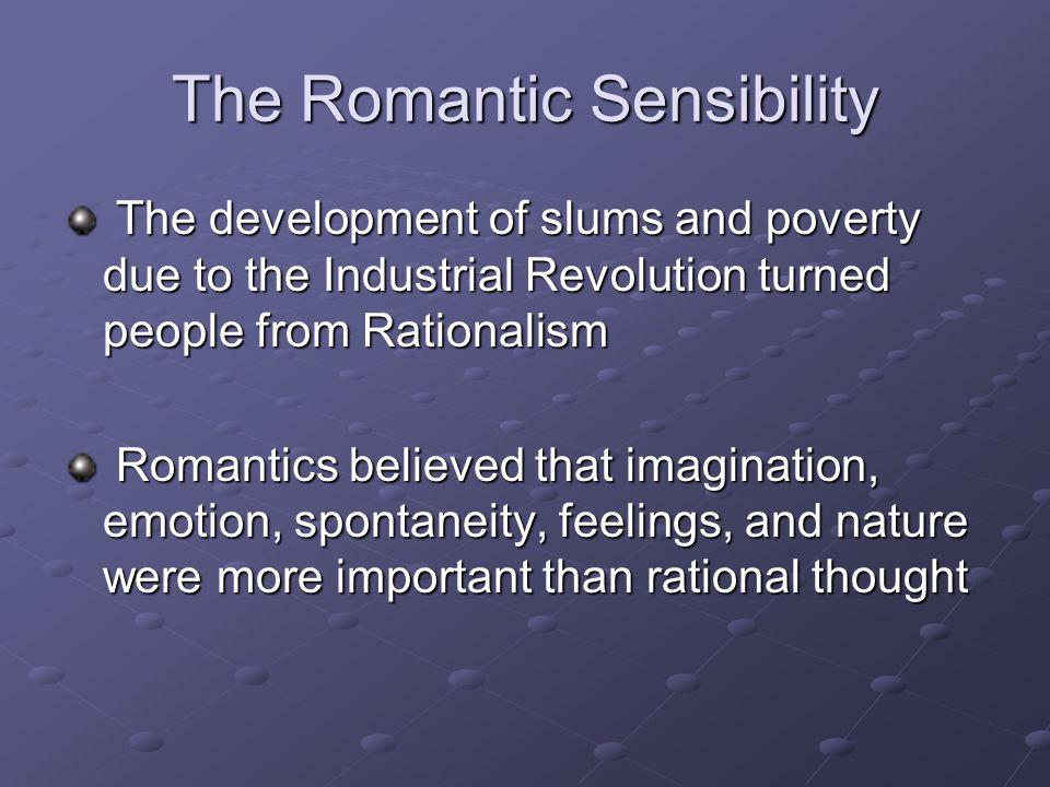 The Romantic Sensibility
