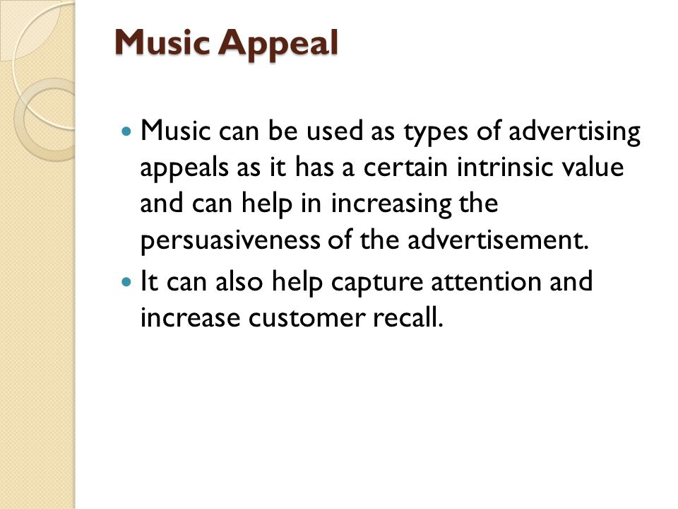 Music Appeal