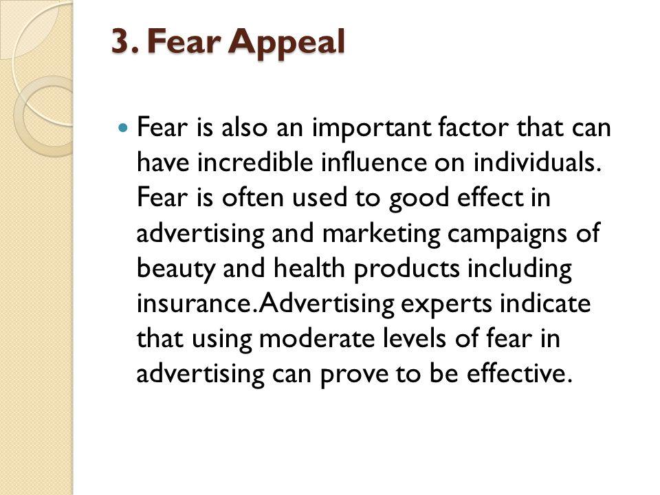 3. Fear Appeal