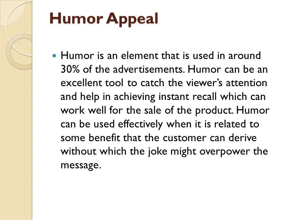 Humor Appeal