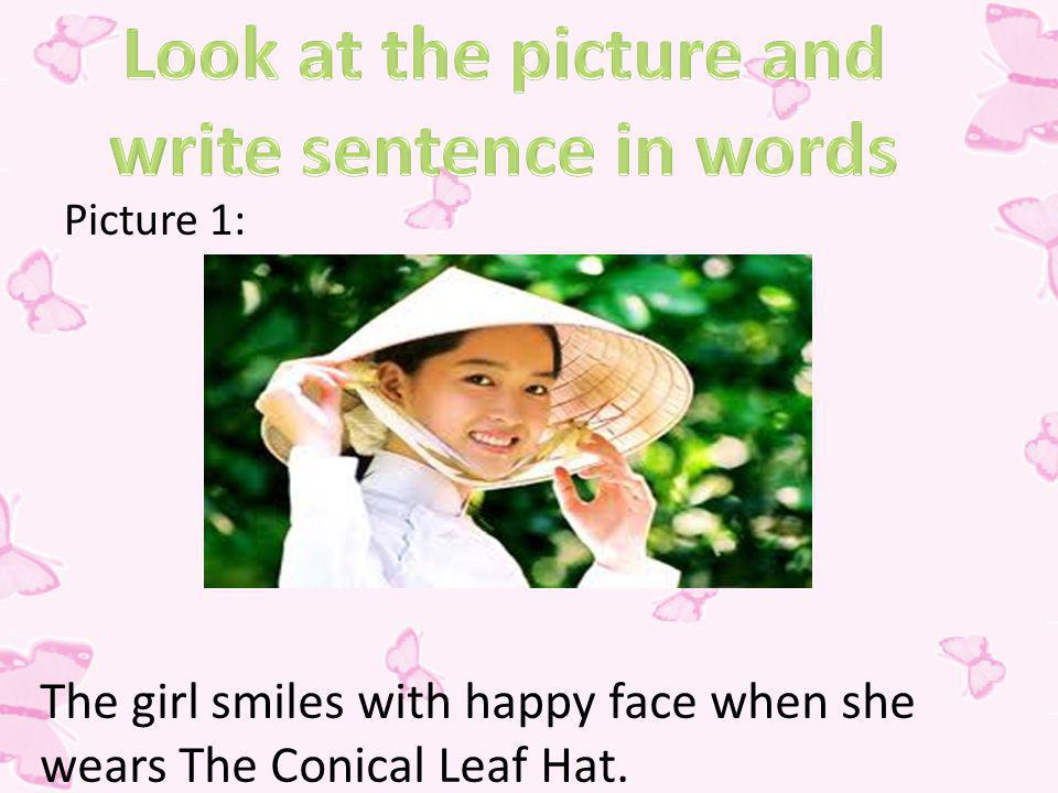 Look at the picture and write sentence in words