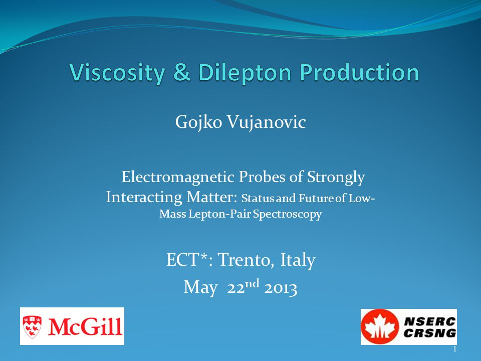 Viscosity & Dilepton Production
