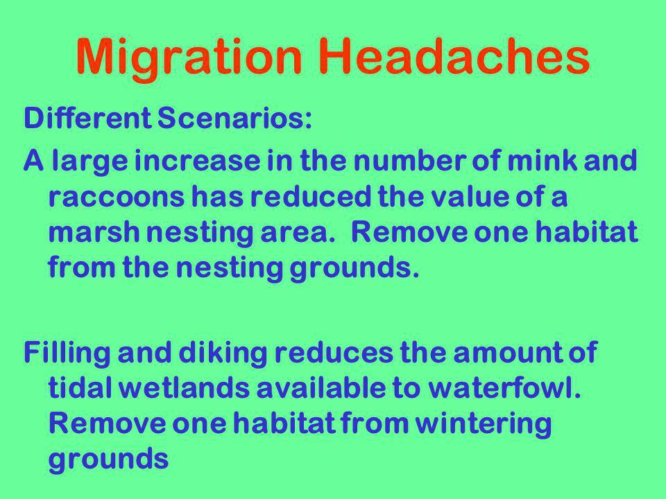 Migration Headaches Different Scenarios: