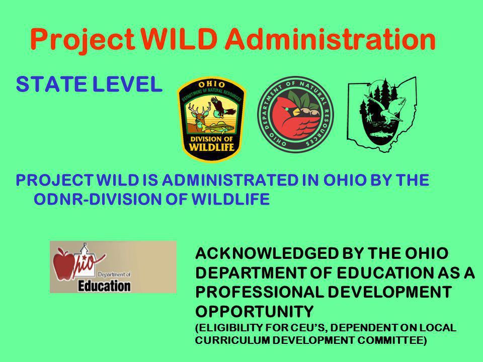 Project WILD Administration