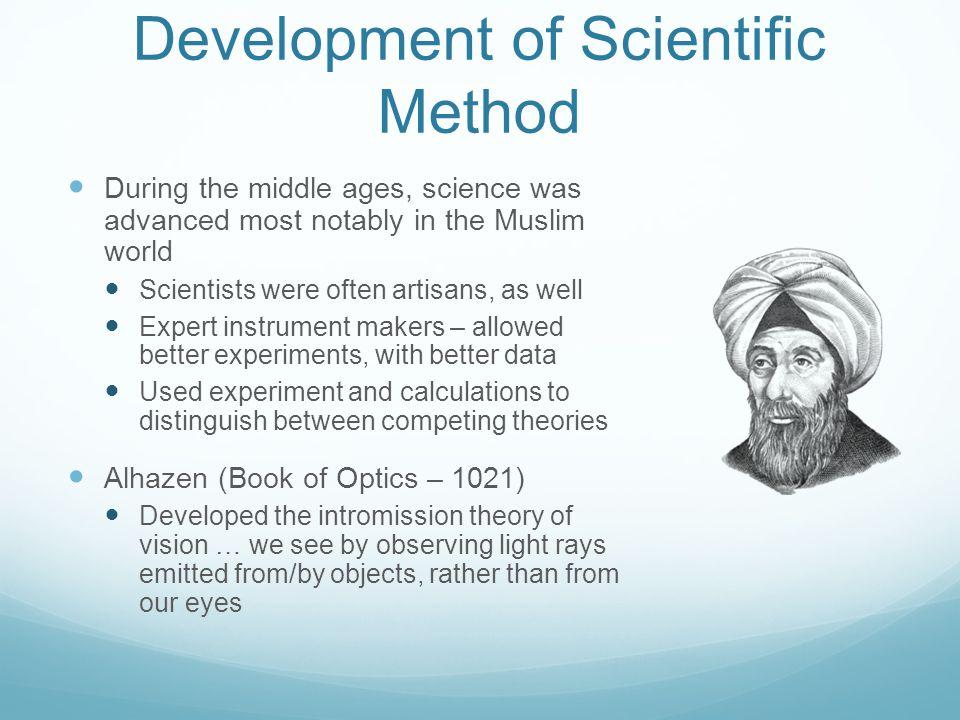 Development of Scientific Method