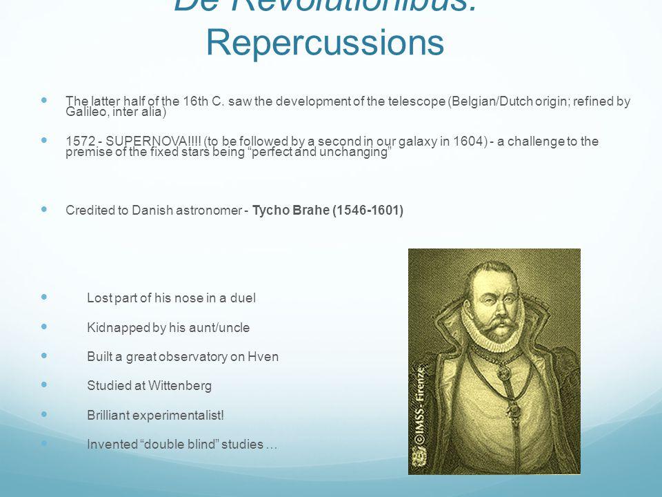 De Revolutionibus: Repercussions