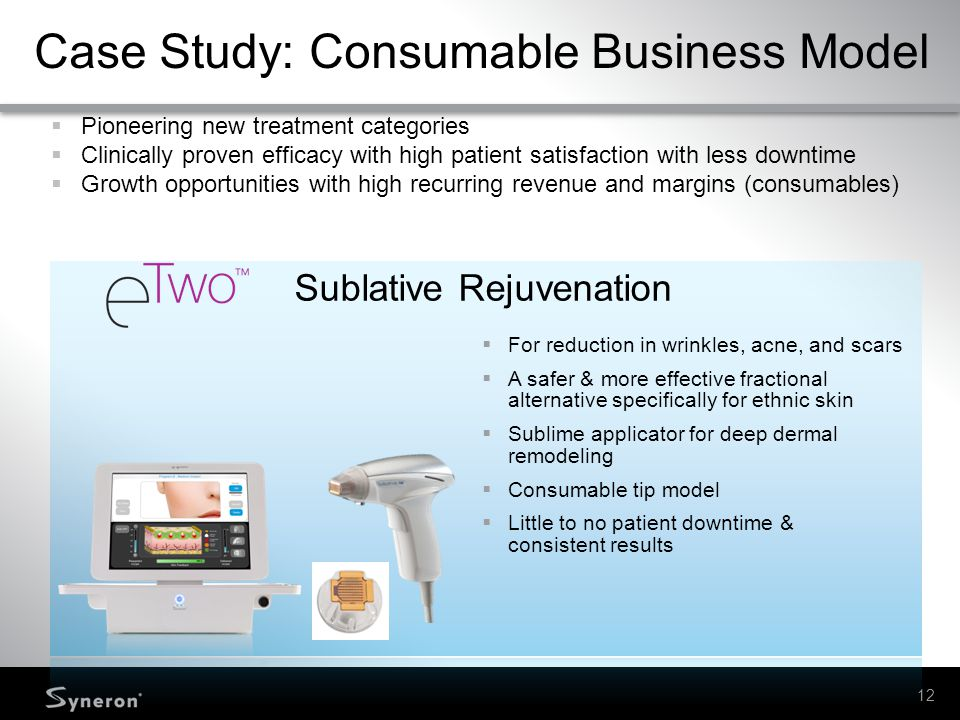 Case Study: Consumable Business Model