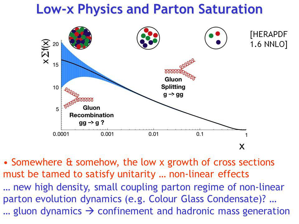 Low-x Physics and Parton Saturation