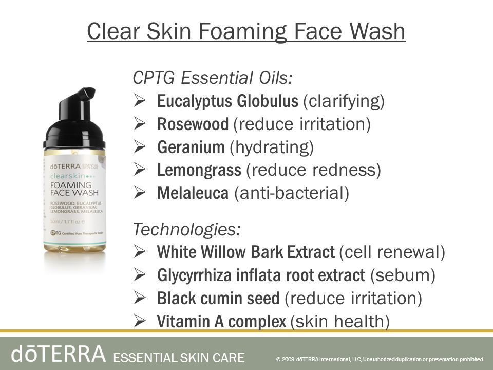 Clear Skin Foaming Face Wash