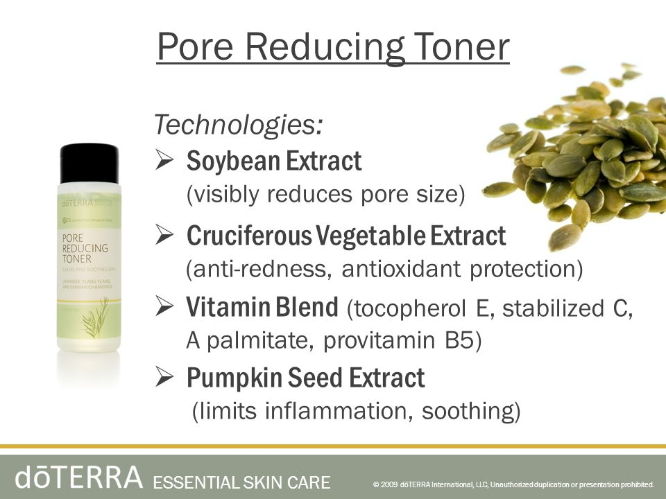 Pore Reducing Toner Technologies: