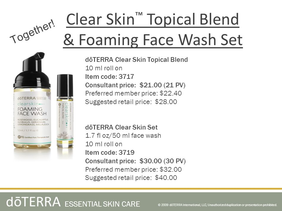 Clear Skin™ Topical Blend