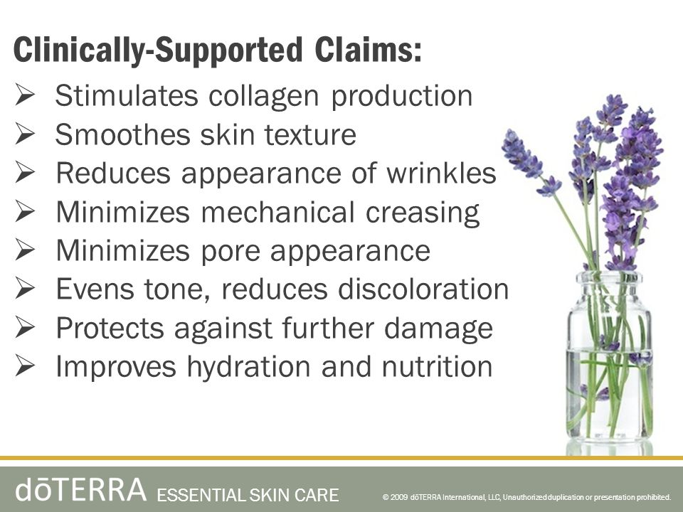 Clinically-Supported Claims: