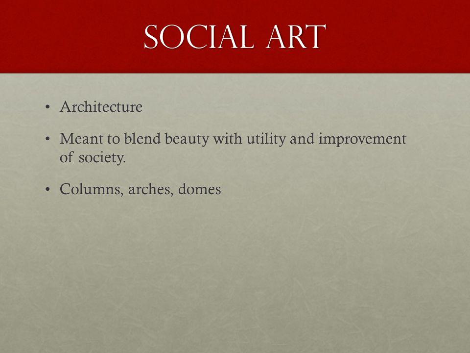 Social Art Architecture