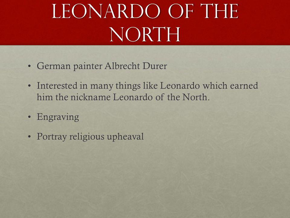 Leonardo of the North German painter Albrecht Durer