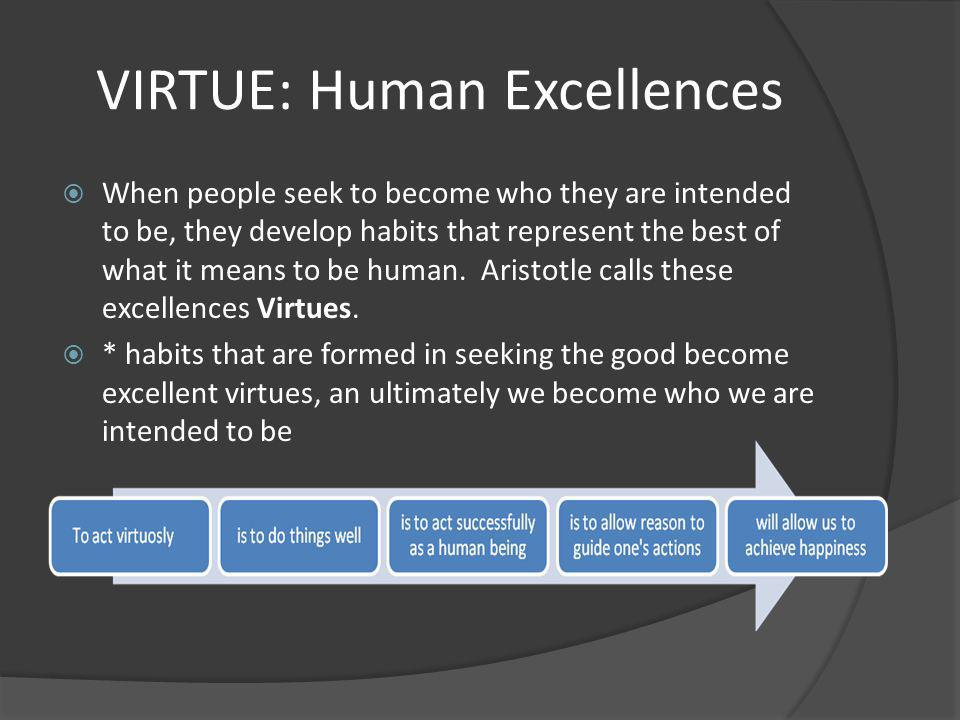 VIRTUE: Human Excellences