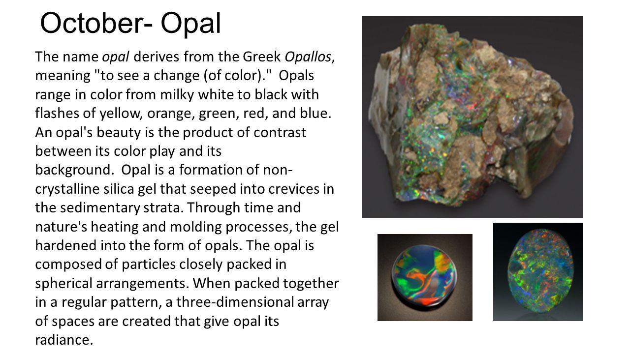 October- Opal