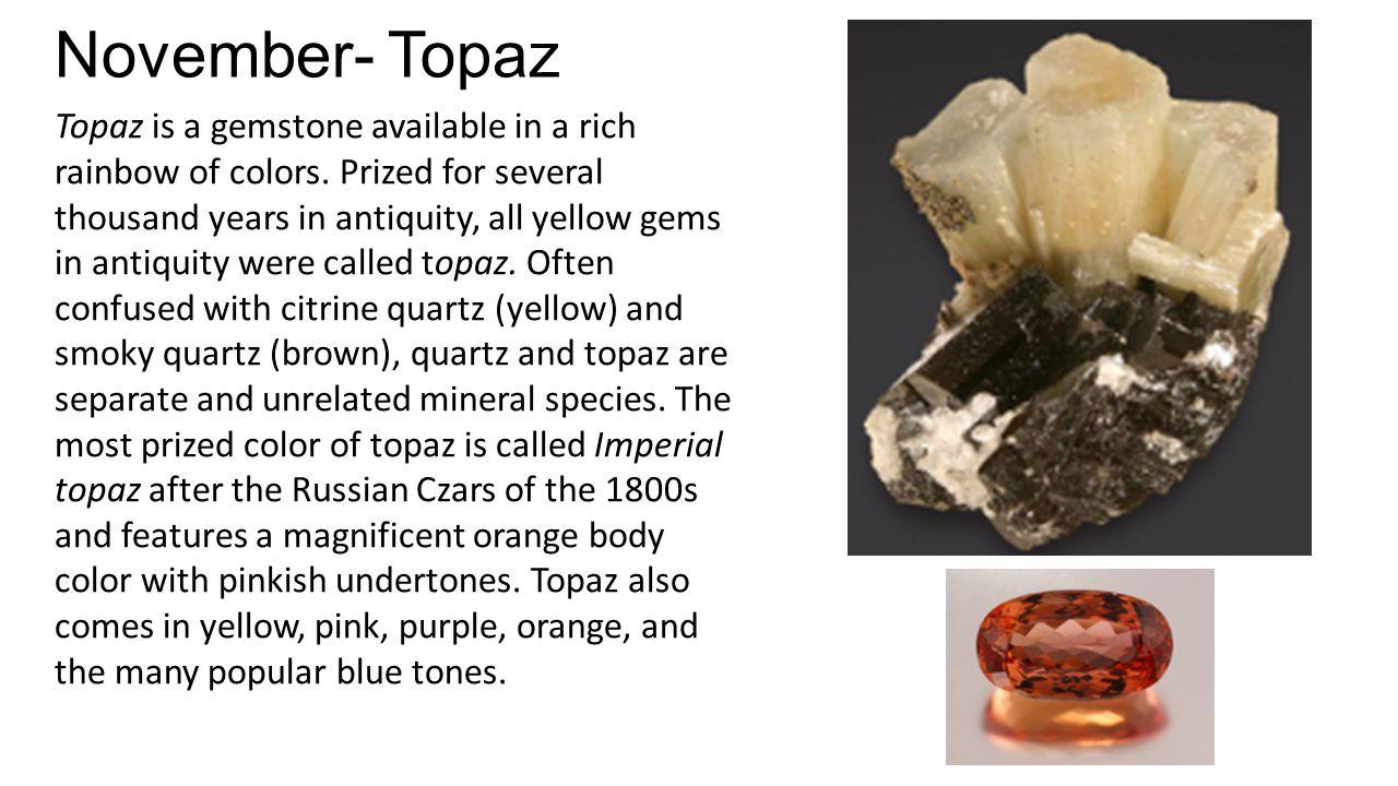 November- Topaz
