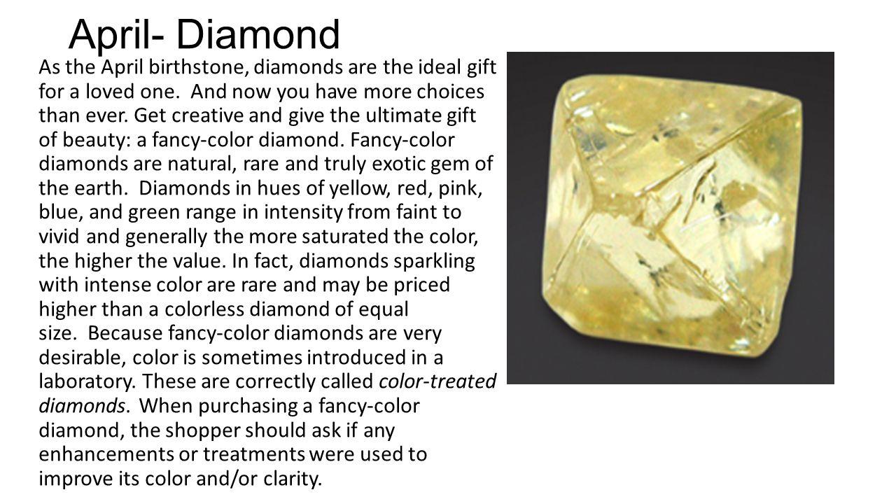 April- Diamond