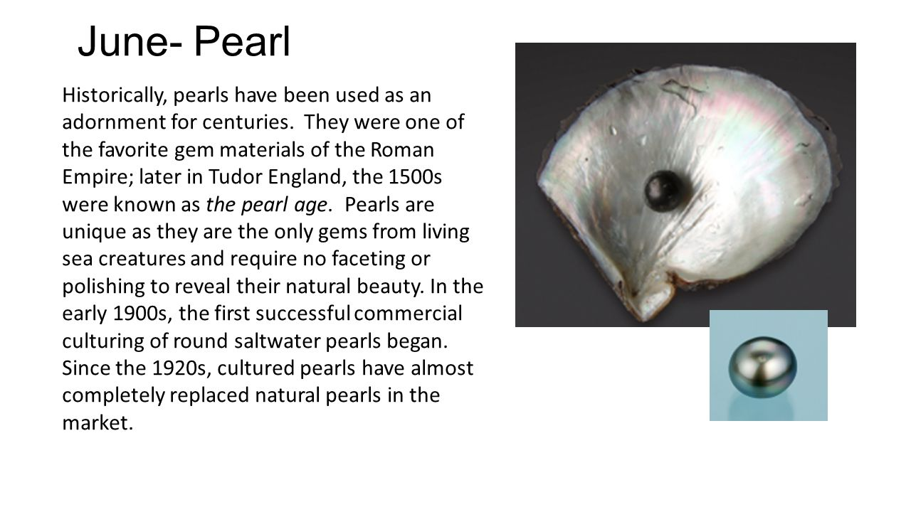 June- Pearl