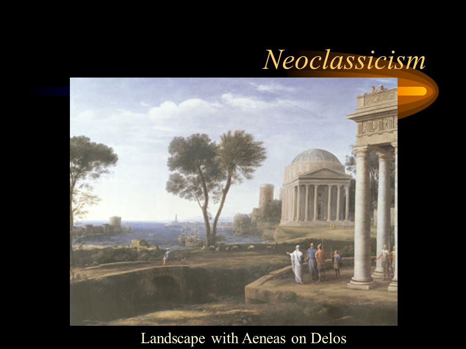 Neoclassicism Landscape with Aeneas on Delos