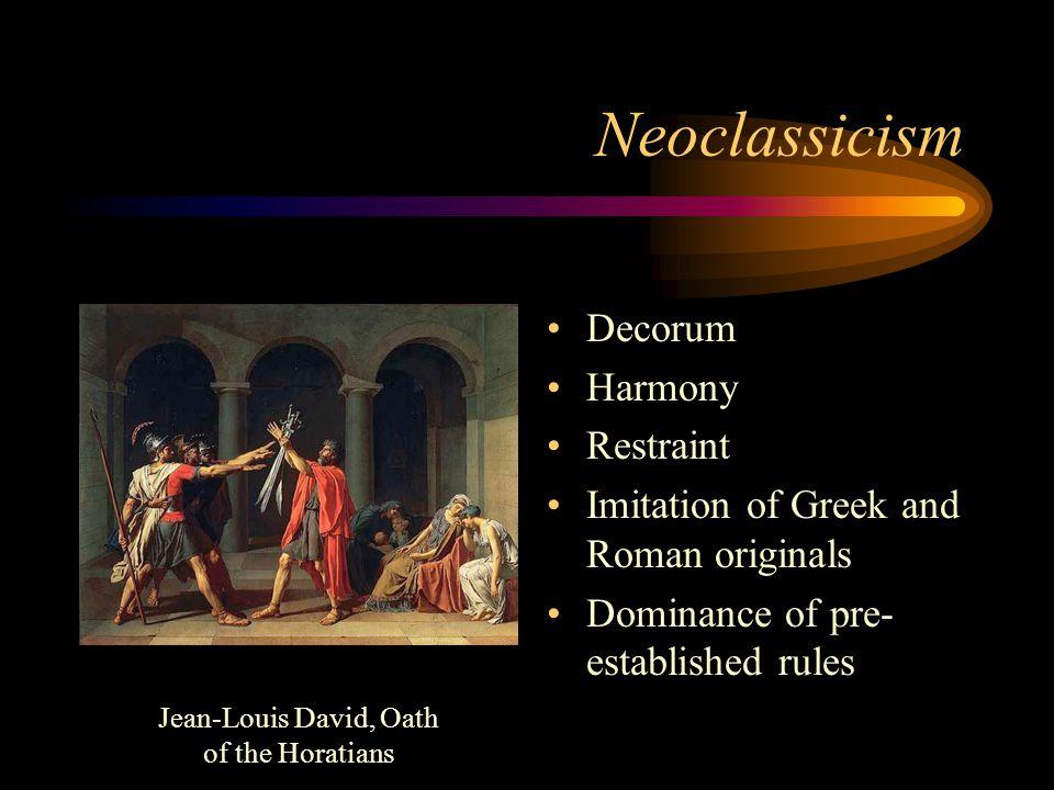 Jean-Louis David, Oath of the Horatians