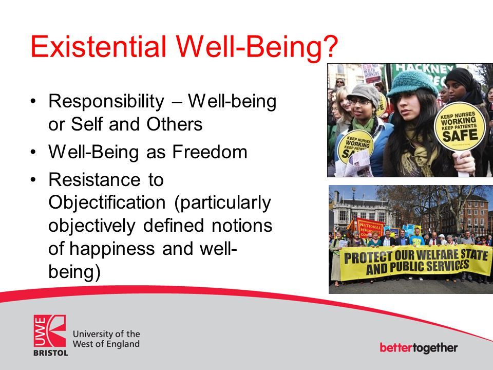 Existential Well-Being