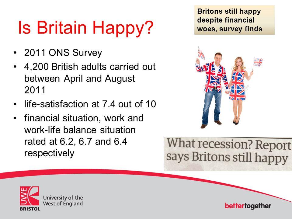 Is Britain Happy 2011 ONS Survey