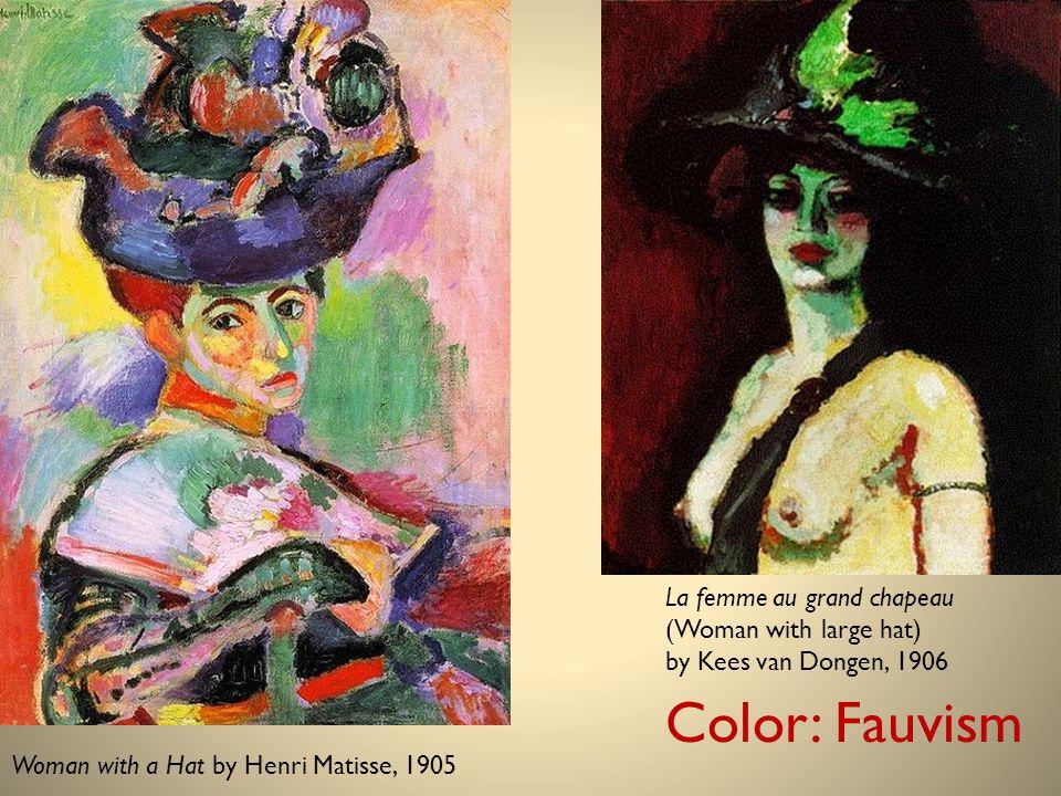 La femme au grand chapeau (Woman with large hat) by Kees van Dongen, 1906