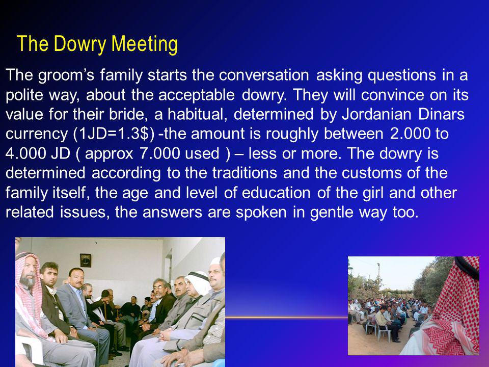 The Dowry Meeting