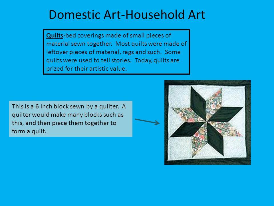 Domestic Art-Household Art