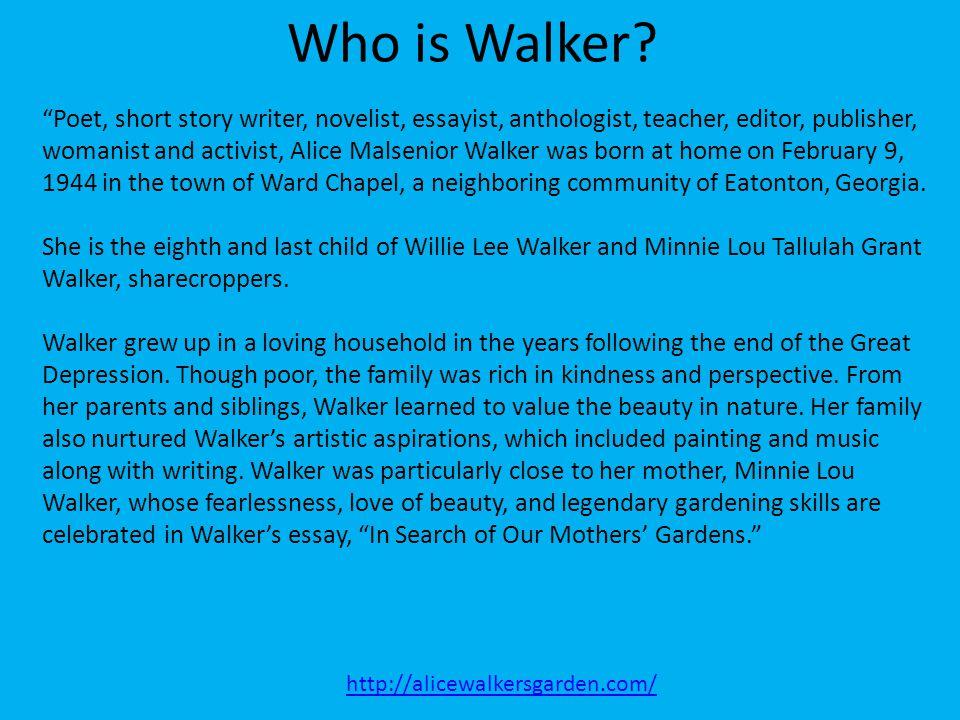 Who is Walker
