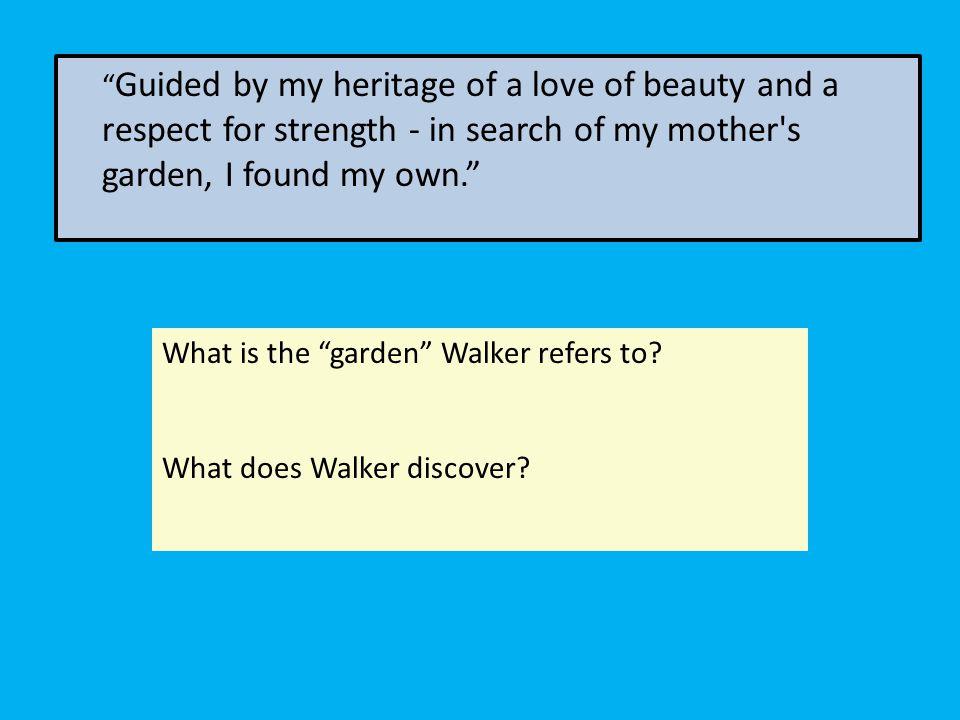 Alice Walker February 9 Ppt Download
