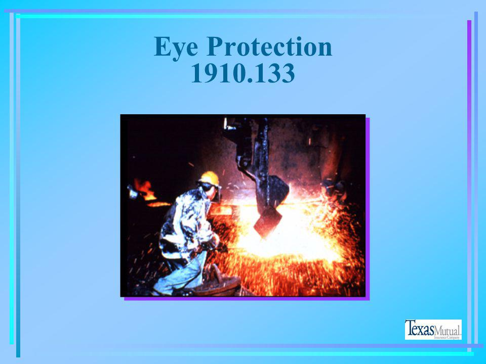 Eye Protection 1910.133