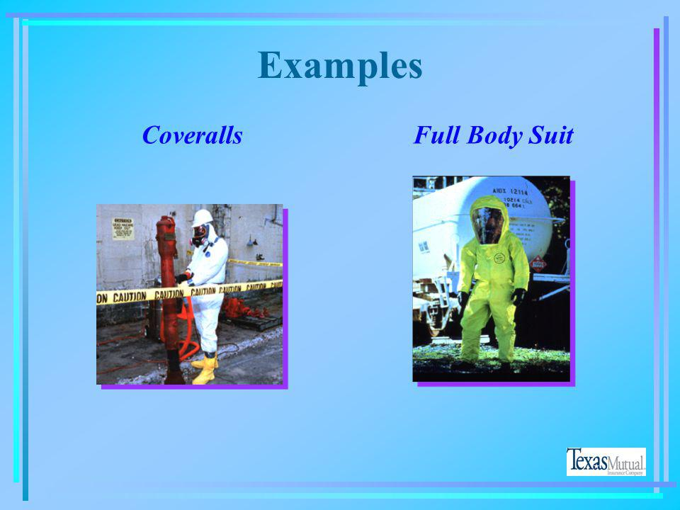 Examples Coveralls Full Body Suit