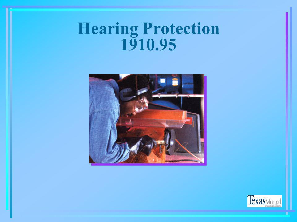 Hearing Protection 1910.95