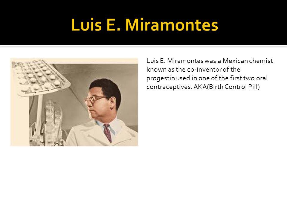 Luis E. Miramontes