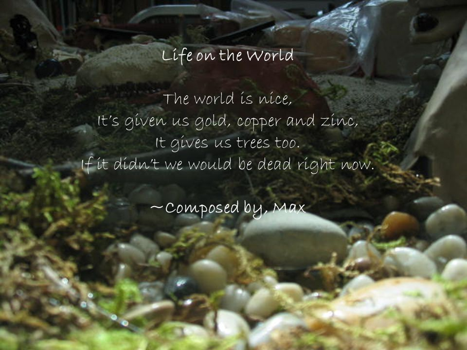 Life on the World ~Composed by, Max