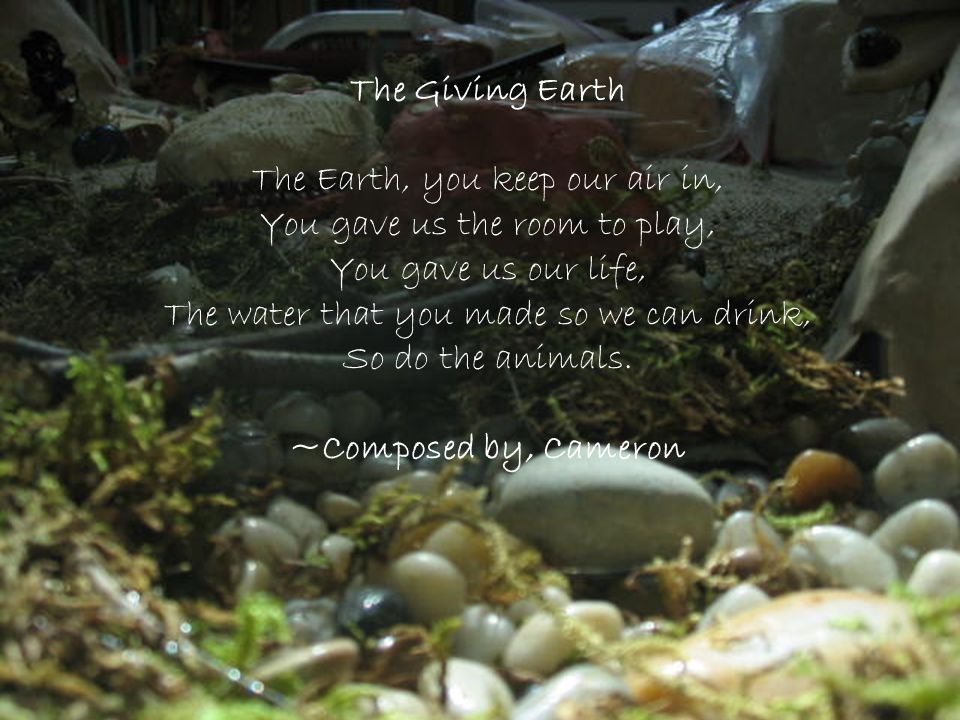 The Giving Earth ~Composed by, Cameron