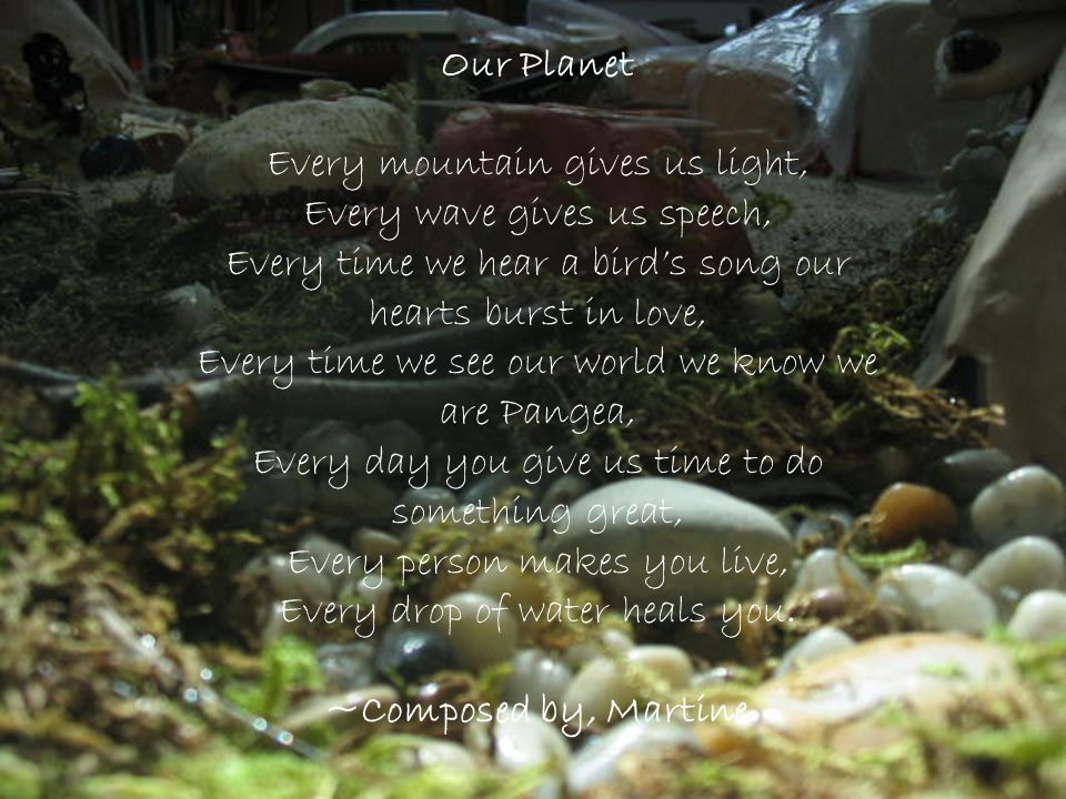 Our Planet ~Composed by, Martine