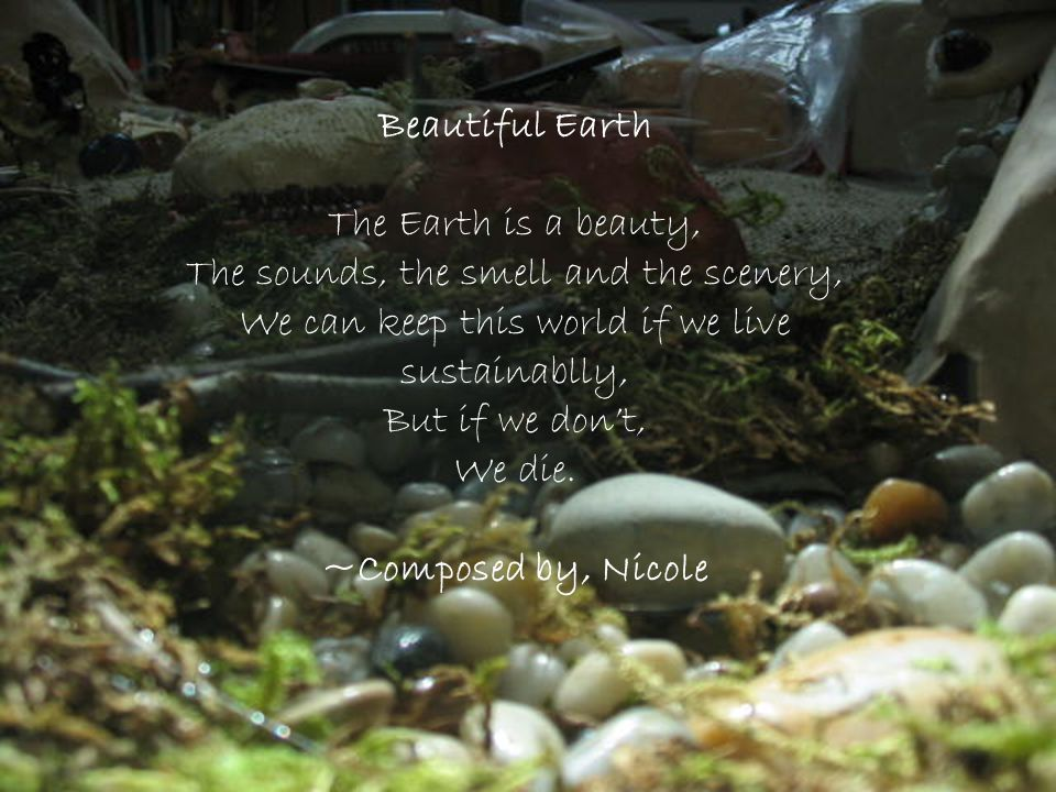 Beautiful Earth ~Composed by, Nicole